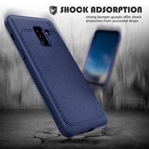 IVS odolný gelový obal na Samsung Galaxy A6+ (2018) - tmavě modrý - 2