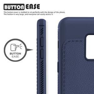 IVS odolný gelový obal na Samsung Galaxy A6 (2018) - tmavě modrý - 2