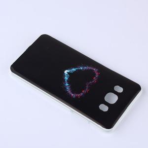 Funy gelový obal na Samsung Galaxy J5 (2016) - srdce - 2