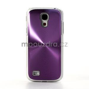 Metalický obal na Samsung Galaxy S4 mini - fialový - 2