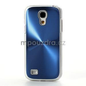 Metalický obal na Samsung Galaxy S4 mini - modrý - 2