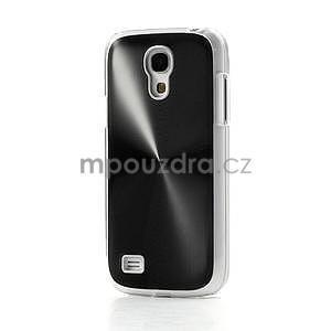 Metalický obal na Samsung Galaxy S4 mini - černý - 2