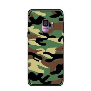 Camouflage hybridní odolný obal na Samsung Galaxy S9 - zelený - 2