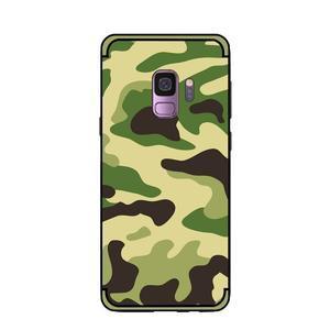 Camouflage hybridní odolný obal na Samsung Galaxy S9 - světlezelený - 2