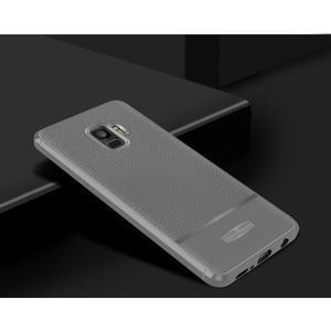 Skiny gelový obal s broušením na Samsung Galaxy S9 - šedý - 2