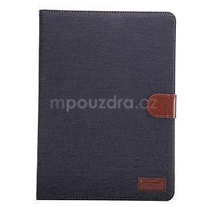 Jeans pouzdro na tablet Samsung Galaxy Tab S2 9.7 - černomodré - 2