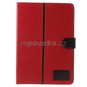 Flatense stylové pouzdro pro Samsung Galaxy Tab S2 9.7 - červené - 2