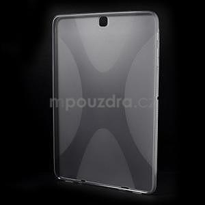 X-line gelový kryt na Samsung Galaxy Tab S2 9.7 - šedý - 2