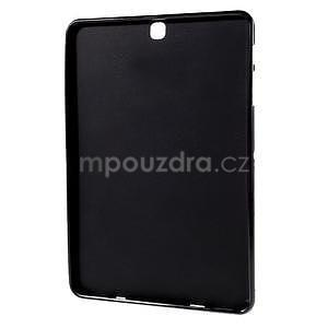 Glossy gelový obal na Samsung Galaxy Tab S2 9.7 - černý - 2