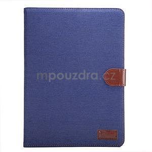 Jeans pouzdro na tablet Samsung Galaxy Tab S2 9.7 - tmavěmodré - 2
