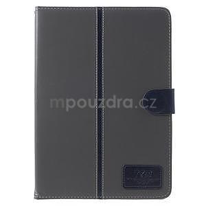 Flatense stylové pouzdro pro Samsung Galaxy Tab S2 9.7 - šedé - 2