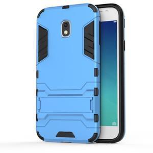 Defender odolný obal na mobil Samsung Galaxy J3 (2017) - světlemodrý - 2