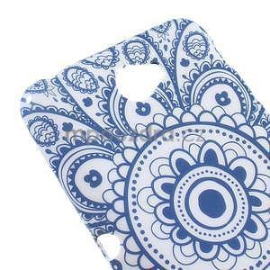 Gelový obal na Sony Xperia E4 - umělecká květina - 2