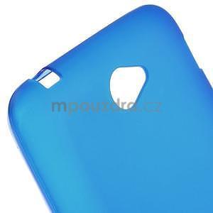 Gelový jednobarevný obal pro Sony Xperia E4 - modrý - 2