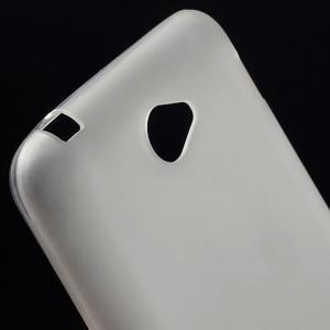 Gelový jednobarevný obal pro Sony Xperia E4 - transparentní - 2