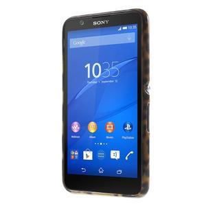Gelový obal Sony Xperia E4 - gepard - 2