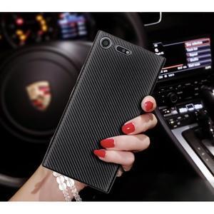 Fiber gelový obal na Sony Xperia XZ Premium - zlatý - 2
