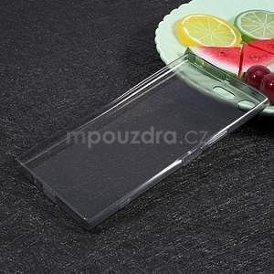 Ultratenký gelový obal na Sony Xperia XZ Premium - šedý - 2