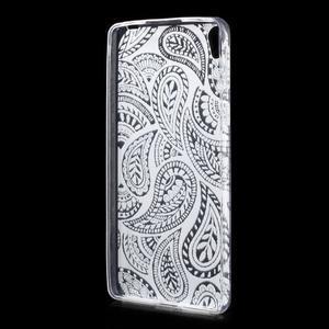 Ultratenký gelový obal na Sony Xperia E5 - krajky II - 2