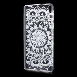 Ultratenký gélový obal pre Sony Xperia E5 - mandala II - 2