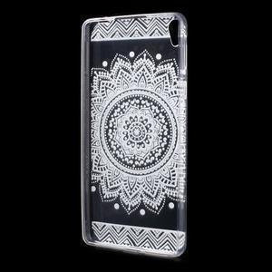 Ultratenký gelový obal na Sony Xperia E5 - mandala III - 2