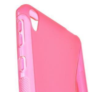 S-line gelový obal na mobil Sony Xperia E5 - rose - 2