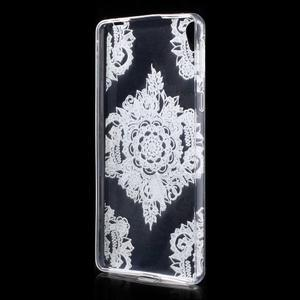 Ultratenký gelový obal na Sony Xperia E5 - krajky V - 2