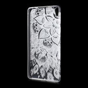 Ultratenký gelový obal na Sony Xperia E5 - lístky - 2