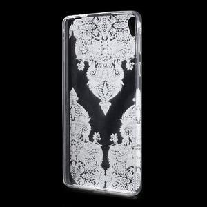 Ultratenký gelový obal na Sony Xperia E5 - krajky III - 2