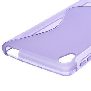 S-line gelový obal na mobil Sony Xperia E5 - fialový - 2