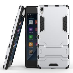 Outdoor odolný obal na mobil Sony Xperia E5 - stříbrný - 2