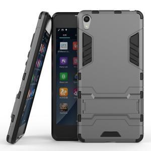 Outdoor odolný obal na mobil Sony Xperia E5 - šedý - 2