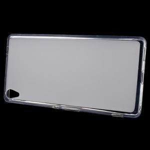 Matný gelový obal na Sony Xperia XA Ultra - transparentní - 2