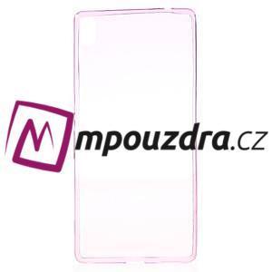 Ultratenký gelový obal na mobil Sony Xperia XA Ultra - rose - 2