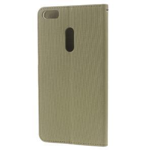 Diary peněženkové pouzdro na mobil Asus Zenfone 3 Ultra - khaki - 2