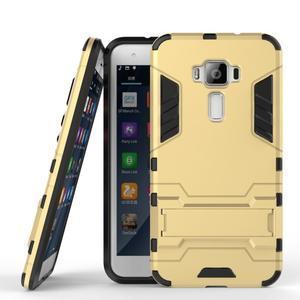 Odolný obal na mobil Asus Zenfone 3 ZE520KL - zlatý - 2