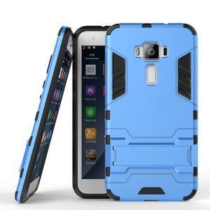 Odolný obal na mobil Asus Zenfone 3 ZE520KL - světlemodrý - 2