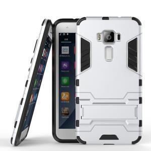 Odolný obal na mobil Asus Zenfone 3 ZE520KL - stříbrný - 2