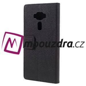 Leathy peněženkové pouzdro na Asus Zenfone 3 ZE520KL - černé - 2