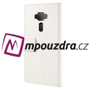Leathy peněženkové pouzdro na Asus Zenfone 3 ZE520KL - bílé - 2