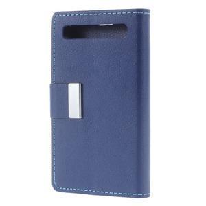 Peněženkové pouzdro na mobil BlackBerry Classic - modré - 2