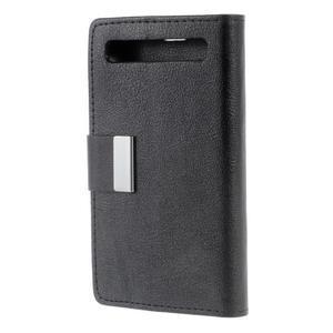 Peněženkové pouzdro na mobil BlackBerry Classic - černé - 2