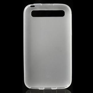 Matný gelový obal na BlackBerry Classic - bílý - 2