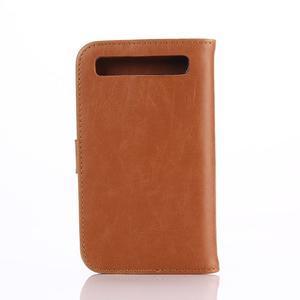 Diary pouzdro na mobil BlackBerry Classic - hnědé - 2
