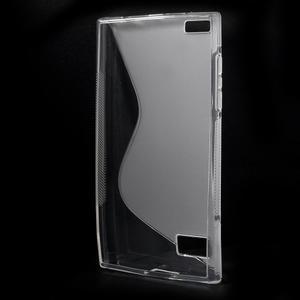 S-line gelový obal na mobil BlackBerry Leap - transparentní - 2