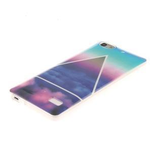 Gelový obal na mobil Honor 4C - triangl - 2