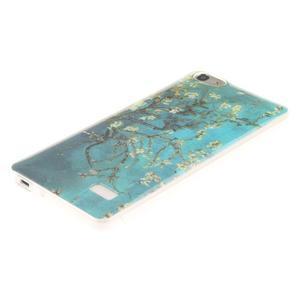 Gelový obal na mobil Honor 4C - kvetoucí strom - 2