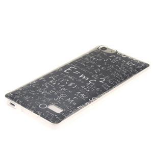 Gelový obal na mobil Honor 4C - vzorečky - 2