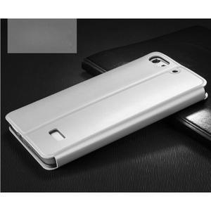 Vintage stylové pouzdro na mobil Honor 4C - bílé - 2