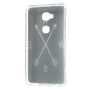 Drop gelový obal na Huawei Honor 5X - světové strany - 2